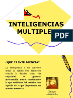 Inteligencias Multiples Sesiíon 3