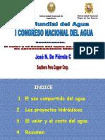 El Valor y El Costo Del Agua en Proyectos de Aprovechamiento Hidráulico - Piérola2009