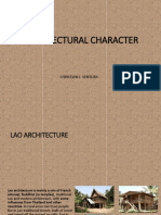 Architectural Characterof Laos