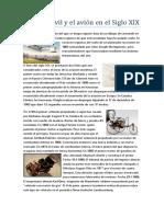 El automóvil y el avión en el Siglo XIX.docx