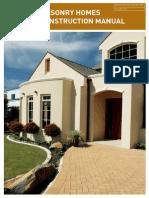 Masonry Homes Construction Manual 2012