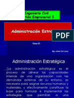 TEMA 3 Administracion Estrategica