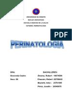 Tema 1 - Perinatologia
