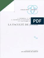 Prejuzgados - Ante la Ley, Derrida y Lyotard