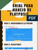 tutorial playposit