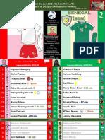 VM Grupp H 180619 Polen - Senegal 1-2