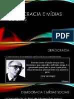 Democracia e Mídias Sociais