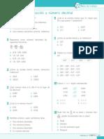 4p Mat Fraccion Numero Decimal