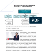 Despacho Viceministerial de Desarrollo e Infraestructura Agraria y Riego