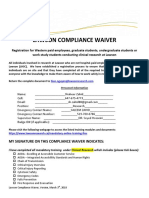 Lawson Compliance Waiver - Clinical Research