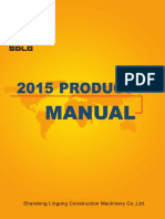 Sdlg 2015 Product Manual