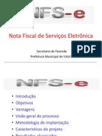 Integração de NFS de Vitoria