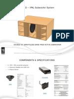 Diseño de Caja Acustica bajos 18Sound IPAL Double 18