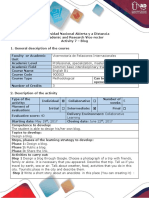 Activity Guide and Evaluation Rubric - Activity 7 - Blog Debate