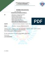 Informe de Mec. Suelos II