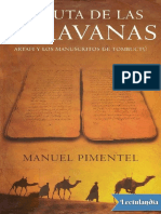 La Ruta de Las Caravanas - Manuel Pimentel