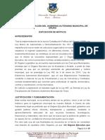 Ley de Fiscalizacion Oruro Marco Legal