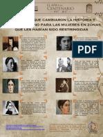 Mujeres Mexicanas en La Historia