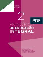 Caderno 2 - Princípios de Educação Integral