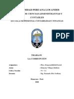 Monografia - La Corrupcion - Etica