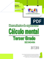 Sec Gdo3 Cálculo Mental (Manual de Aplicación)