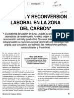 Pobreza y Reconversion Laboral