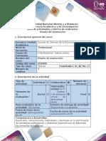 Guía de Actividades y Rubrica de Evaluación - Fase 4 - Presentación de La Propuesta Pedagógica Apoyada en El Recurso Web Wix
