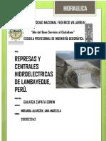 Represas y Centrales Hidroelectricas de Lambayeque- Ana Miranda