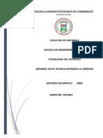 Informe Visita Central Eólica Villonaco
