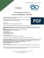 Ectx Sa (Botucatu) - Procedimento Detalhado Revisão Vii