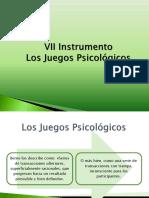 7 Instrumento Los Juegos Psicológicos