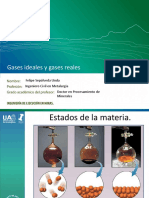 2.- Gases Ideales y Gases Reales