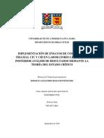 IMPLEMENTACIÓN DE ENSAYOS DE COMPRESIÓN TRIAXIAL