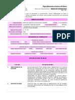 especificaciones tecnicas - PAPEL