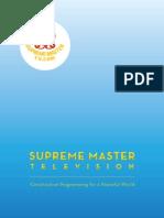 Supreme Master TV Brochure - English (Sept 15, 2010)
