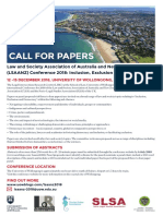Call for Papers - LSAANZ