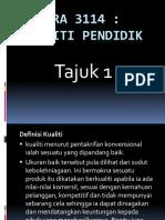 nota  PRA  3114 (kualiti Pendidik).pptx