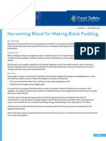 Harvesting Blood for Black Pudding FINAL