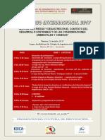GESTION DEL RIESGO Y DESASTRES EN EL CONTEXTO DEL DESARROLLO SOSTENIBLE Y DE LAS CONSIDERACIONES AMBIENTALES Y CONEXAS