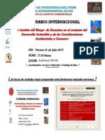 21-07- 17 II Seminario Internacional