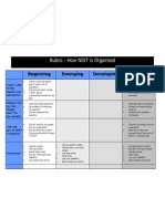 NIST Inquiry Rubric -Draft 1