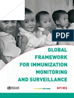 Global Framework for Immunization Monitoring and Surveillance-444