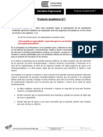 Producto Académico N 01- Foro