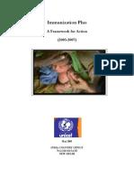 Immunization Plus- A Framework for Action (2003-2007)
