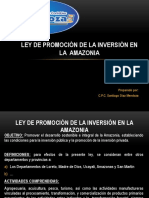 Ley de La Amazonia