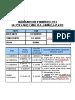Calendarizaciones CICLO 2018-2 de  6°  SEMESTRE_OK