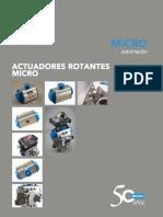 Actuadores Rotantes Micro