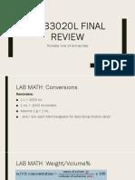 mcb3020l final review