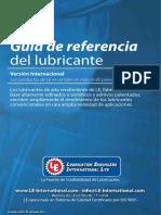 Guia referencia del lubricante