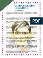 Biografia de Jose Carlos Mariategui